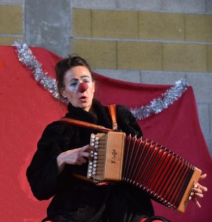 striknine accordéon clown