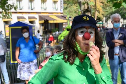 déambulation clown